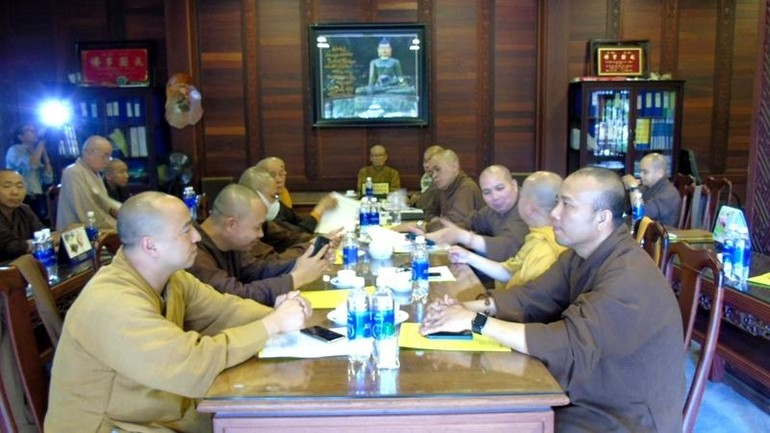 Ban Thường trực Ban Trị sự GHPGVN tỉnh đã có phiên họp định kỳ nhằm thảo luận các Phật sự quan trọng