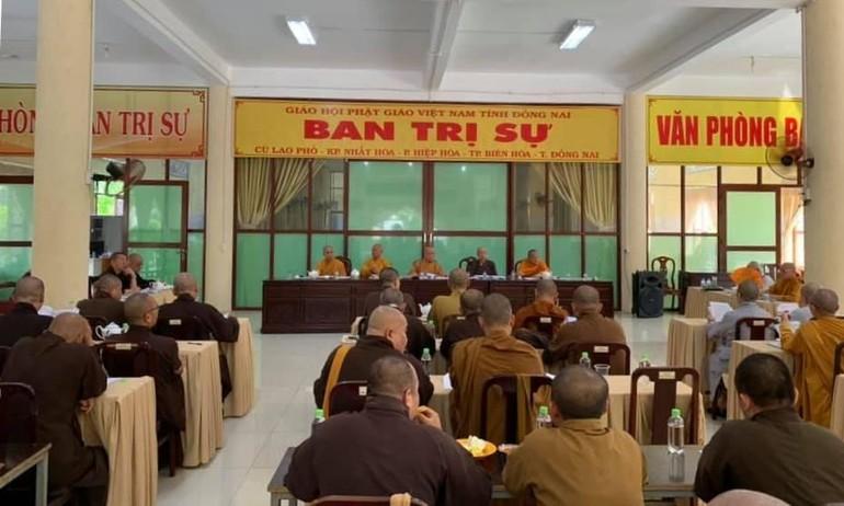 Ban Trị sự Phật giáo tỉnh Đồng Nai triển khai công tác tổ chức Đại lễ Phật đản, An cư kiết hạ Phật lịch 2565