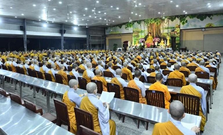 Học viện Phật giáo Việt Nam tại TP.HCM tổ chức lễ tưởng niệm Đại lão Hòa thượng Thích Thiện Duyên