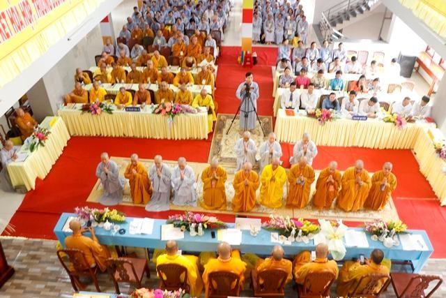 Đại hội đại biểu Phật giáo TP.Bến Tre lần thứ VII (2021-2026) diễn ra thành công