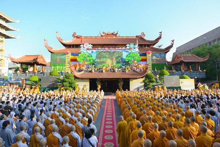 Đại lễ Phật đản Phật lịch 2563 tại Việt Nam Quốc Tự