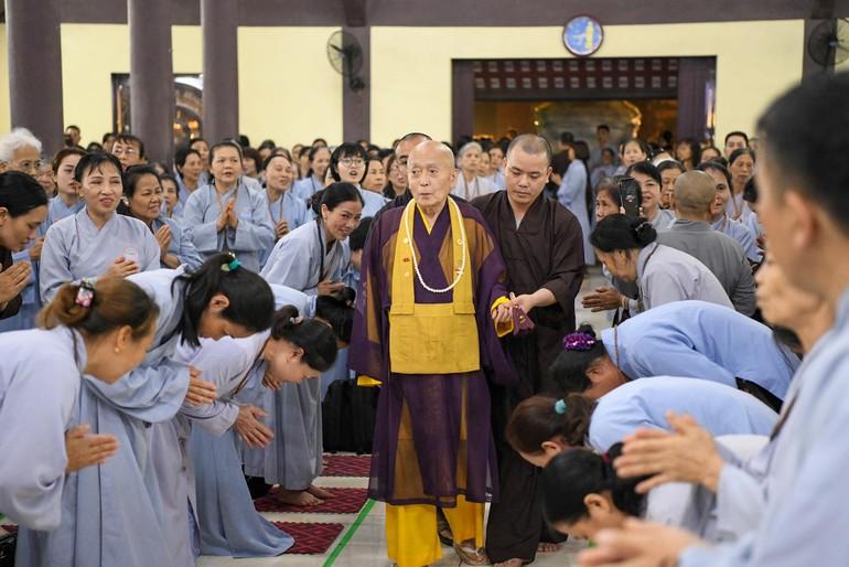 Hòa thượng Yoshimizu Daichi quang lâm đạo tràng chùa Hòa Phúc
