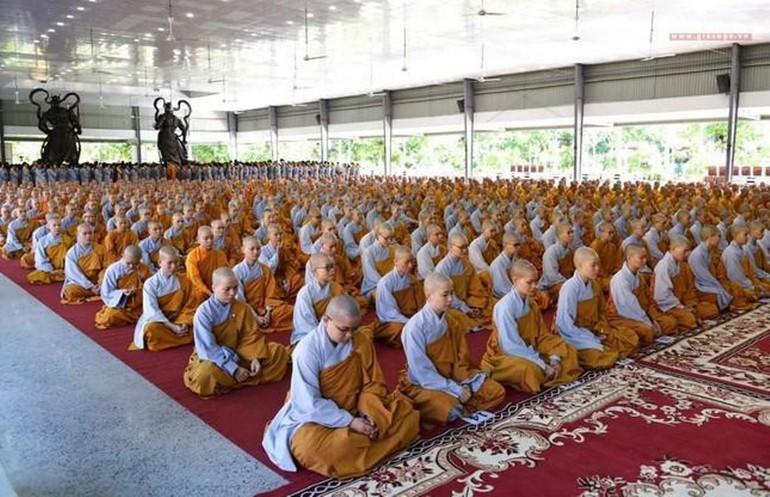 Khai mạc khóa An cư kiết hạ Phật lịch 2564 tại Học viện Phật giáo VN tại TP.HCM - cơ sở 2 - Ảnh: Bảo Toàn
