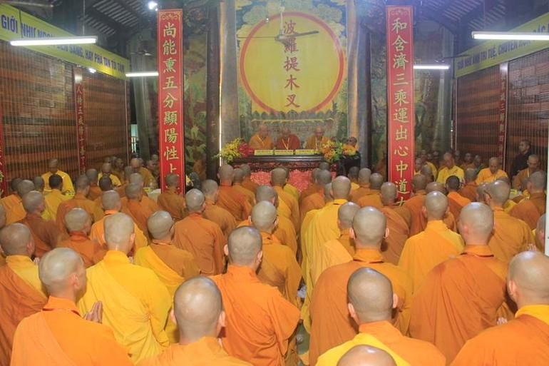 Các giới tử được đăng đàn truyền giới Tỳ-kheo, Sa-di tại chùa Phước Hưng