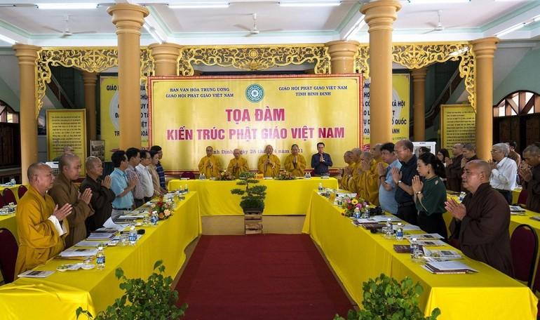 """Ban Văn hóa Trung ương tọa đàm """"Đề án di sản kiến trúc tại tỉnh Bình Định"""""""