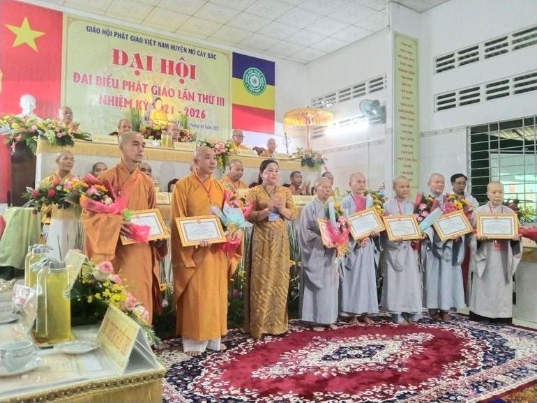 Đại hội đại biểu Phật giáo Mỏ Cày Bắc diễn ra vào ngày 23-4-2021