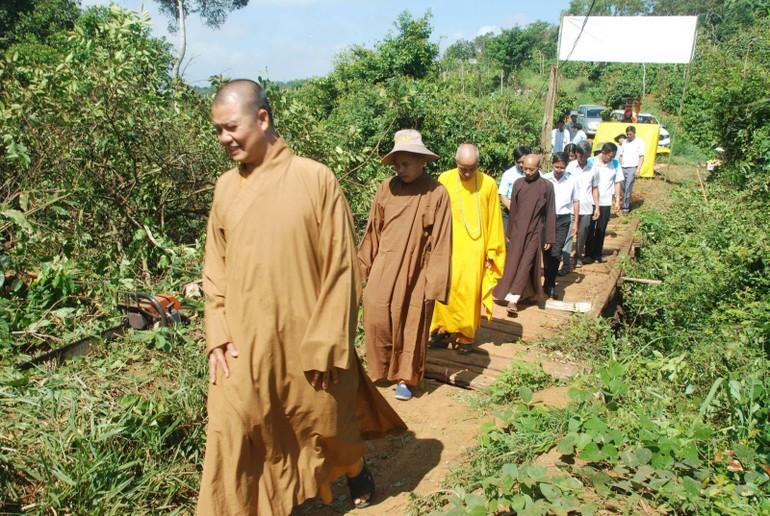 Cầu dân sinh sẽ được xây mới nối liền đôi bờ giữa hai xã Kiến Hành và Đắk Wer