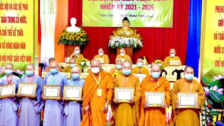 Ghi nhận những đóng góp của các cá nhân thuộc Ban Trị sự huyện nhiệm kỳ 2016-2021
