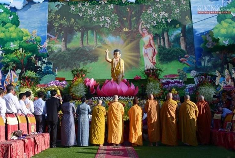 Đại lễ Phật đản Phật lịch 2565 sẽ không tập trung đông người, để nâng cao phòng chống dịch bệnh Covid-19