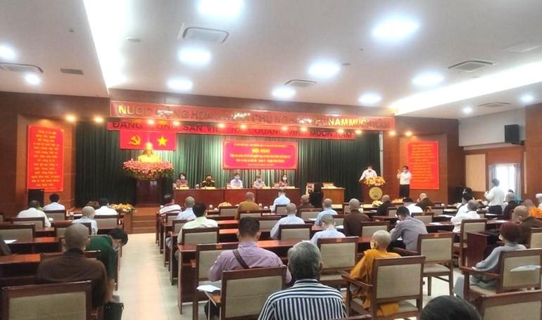 Hội nghị tiếp xúc cử tri với các ứng cử đại biểu Quốc hội khóa XV và Hội đồng Nhân dân các cấp