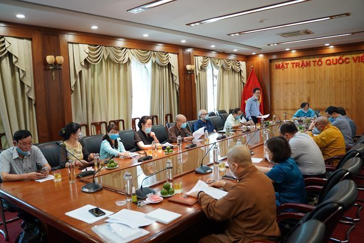 Hội nghị trao đổi về đẩy mạnh chương trình phối hợp phát huy vai trò các tôn giáo tham gia bảo vệ môi trường