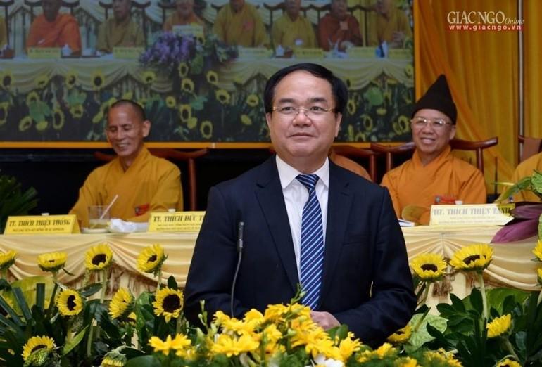 Ông Vũ Chiến Thắng gởi thư chúc mừng Đại lễ Phật đản Phật lịch 2565