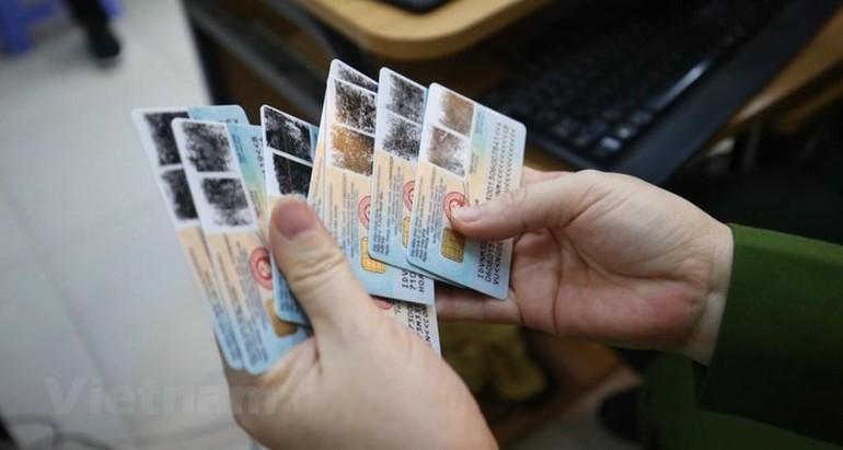 Thẻ CCCD gắn chip
