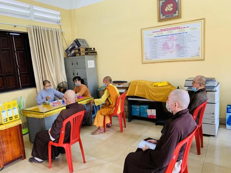 95/160 tự viện tại TP.Biên Hòa đóng góp mua vắc-xin phòng dịch Covid-19
