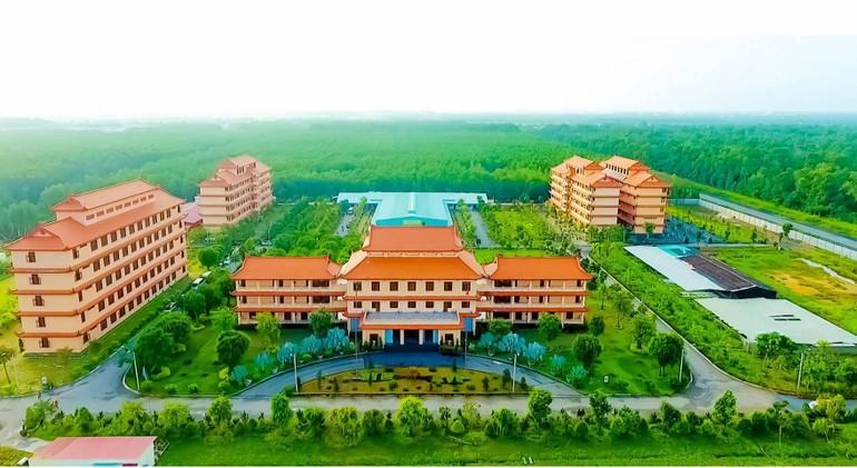 Học viện Phật giáo VN tại TP.HCM - Cơ sở II, xã Lê Minh Xuân, huyện Bình Chánh