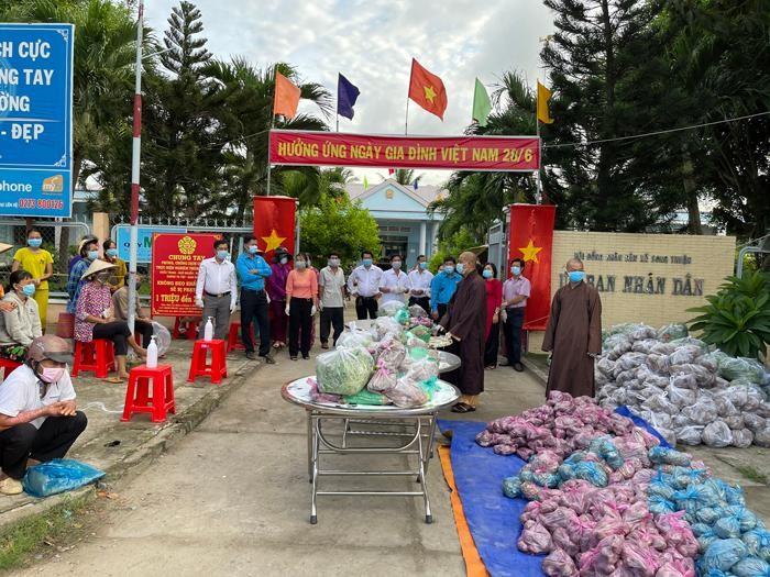 Chợ 0 đồng được tổ chức tại 24 đơn vị xã, phường thuộc huyện Châu Thành, Tiền Giang