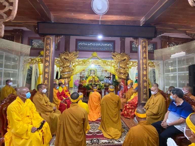 Lễ truy niệm Hòa thượng Thích Trí Yên tại chùa Bửu Tịnh