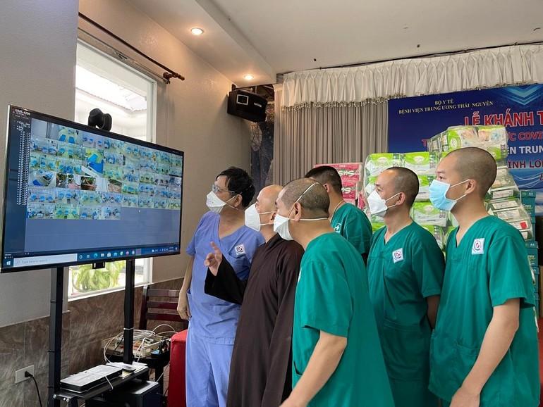 Tình nguyện viên Nam Định phục vụ tuyến đầu chống dịch tại tỉnh Long An
