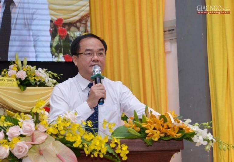 Ông Vũ Chiến Thắng, Thứ trưởng Bộ Nội vụ, Trưởng ban Tôn giáo Chính phủ - Ảnh: Bảo Toàn