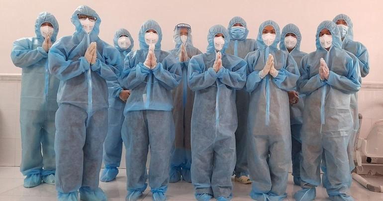 Tình nguyện viên Phật giáo tỉnh Đồng Nai tham gia tập huấn trước khi chính thức phục vụ