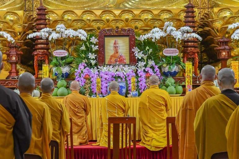 Lễ tưởng niệm nội bộ - 29 năm ngày Hòa thượng Thích Thiện Huệ viên tịch