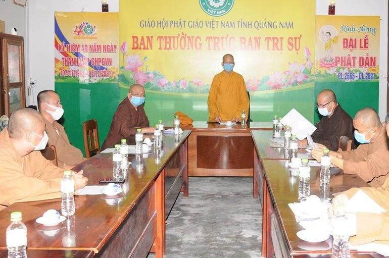 Ban Thường trực Ban Trị sự Phật giáo tỉnh triển khai công tác Phật sự trong thời gian tới