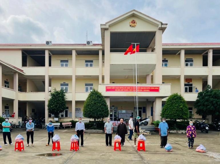 Ban Trị sự Phật giáo TP.Biên Hòa đã chia sẻ 500 phần quà (đợt 3) đến các hộ khó khăn