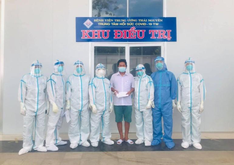 Chư Tăng tình nguyện viên Phật giáo tỉnh Nam Định (đợt 1) phục vụ tại tỉnh Long An