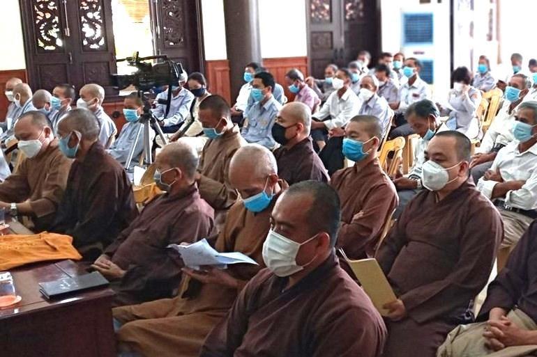 Ban Trị sự GHPGVN huyện Thăng Bình tổ chức hội nghị đầu tiên của nhiệm kỳ VIII (2021-2026)