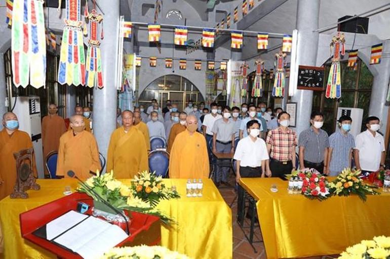 Lễ công bố quyết định nhân sự nhiệm kỳ 2021-2026 của Ban Trị sự huyện Trực Ninh