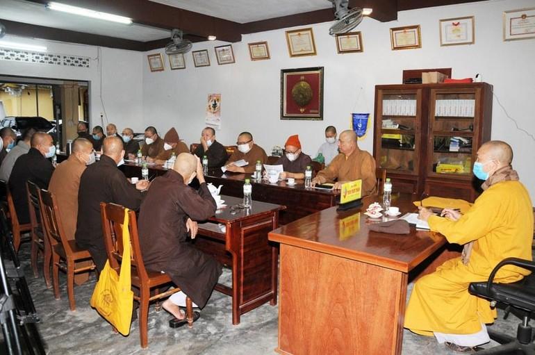 Ban Thường trực Ban Trị sự Phật giáo tỉnh Quảng Nam họp mở rộng hôm 7-10