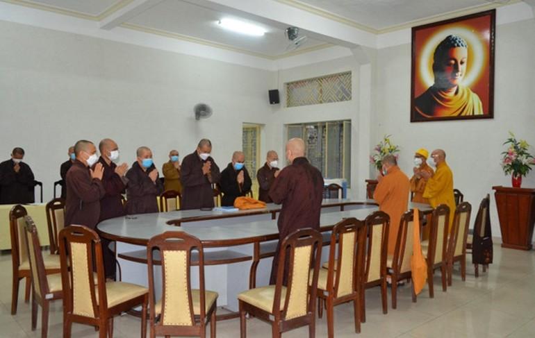 Ban Trị sự Phật giáo TP.Đà Nẵng đã có phiên họp triển khai hoạt động Phật sự sau thời gian giãn cách