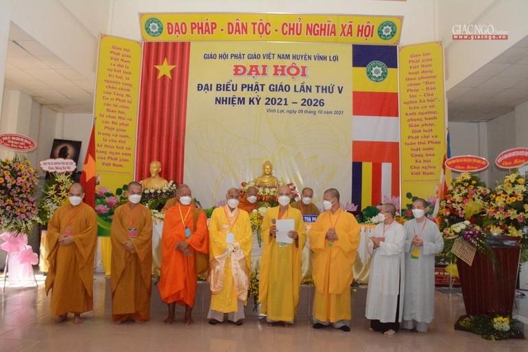 Tân Ban Trị sự Phật giáo huyện Vĩnh Lợi ra mắt đại hội, đây là đơn vị đầu tiên của Giáo hội tỉnh tổ chức đại hội