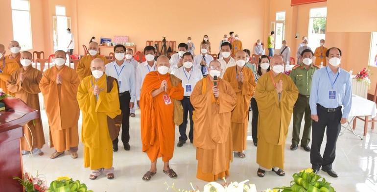 Đại hội đại biểu Phật giáo huyện Đông Hải lần thứ V nhiệm kỳ 2021-2026