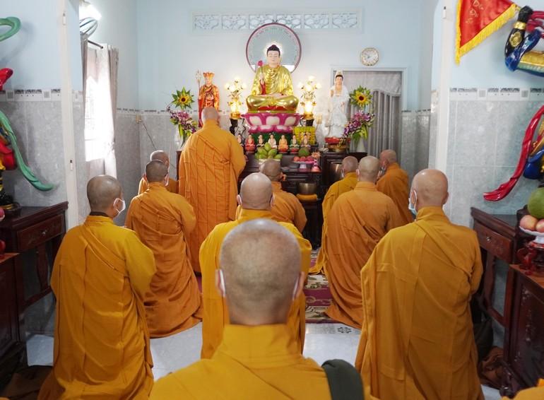 Chư tôn đức Phật giáo huyện Củ Chi bố-tát