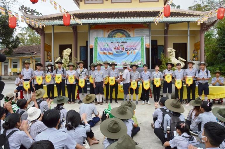 Phân ban Gia đình Phật tử huyện Thăng Bình, tỉnh Quảng Nam kỷ niệm ngày Dũng