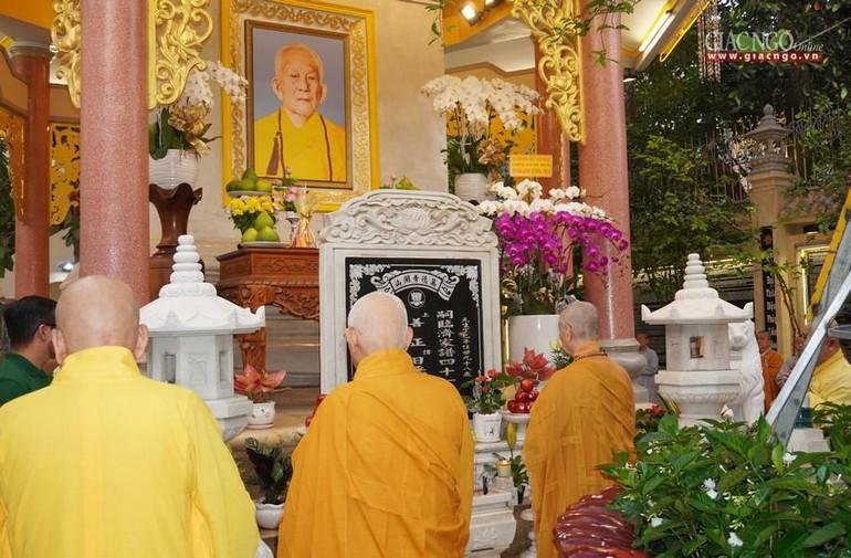 Tưởng niệm 7 năm ngày Đại lão Hòa thượng Thích Trí Tịnh viên tịch