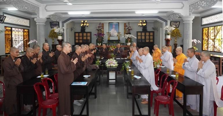 Ban Trị sự Phật giáo quận Gò Vấp nhiệm kỳ 2021-2026 họp triển khai Phật sự tại chùa Huỳnh Kim