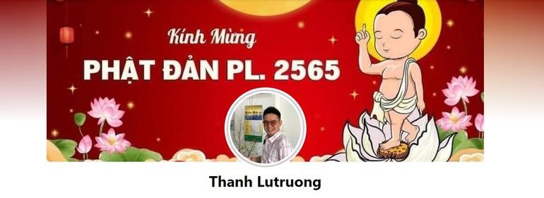 Ảnh bìa trên trang cá nhân Thanh Lutruong