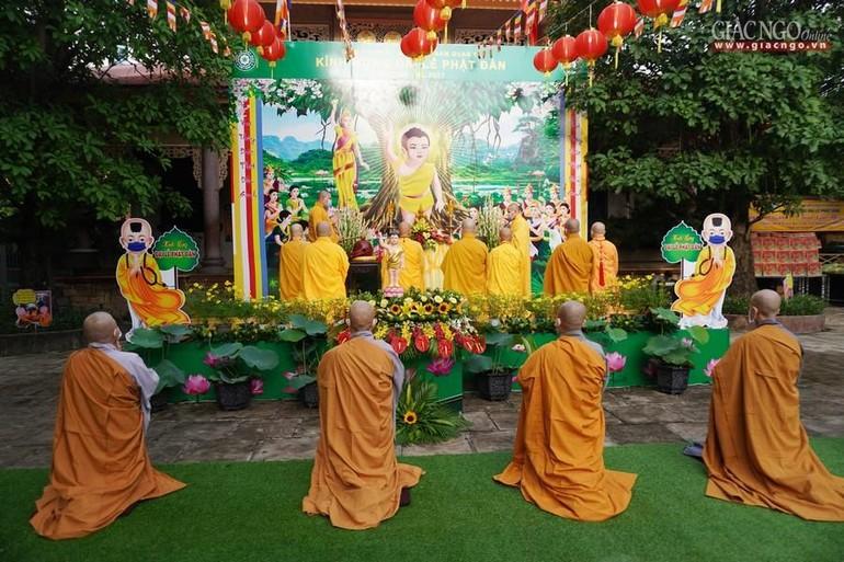 Phật giáo quận 12 trang nghiêm tổ chức Đại lễ Phật đản Phật lịch 2565