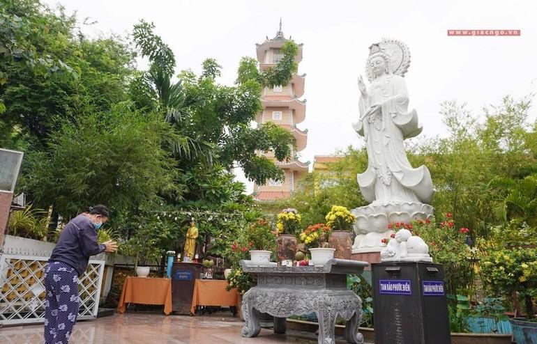 Chùa Xá Lợi quận 3 mở cửa lại ngày 3-10-2021