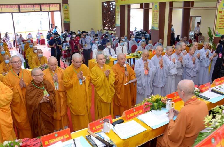 Hòa thượng Thích Thiện Hòa được suy cử tân Trưởng ban Trị sự GHPGVN quận Tân Phú