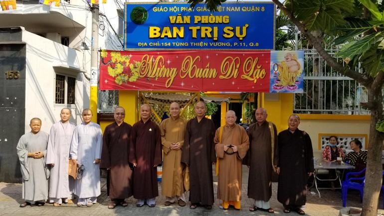 Thường trực Ban Trị sự GHPGVN quận 8 họp mặt đầu Xuân Tân Sửu
