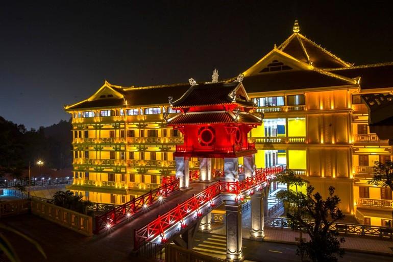 Giảng đường Học viện Phật giáo VN tại Hà Nội