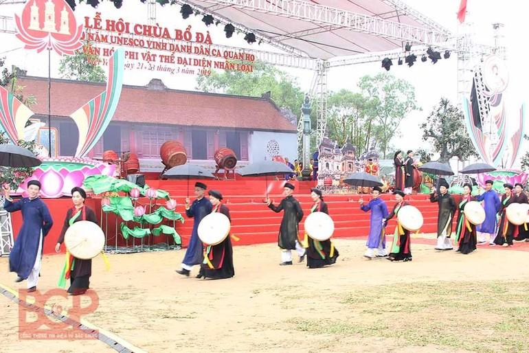 Lễ hội chùa Bổ Đà năm 2019