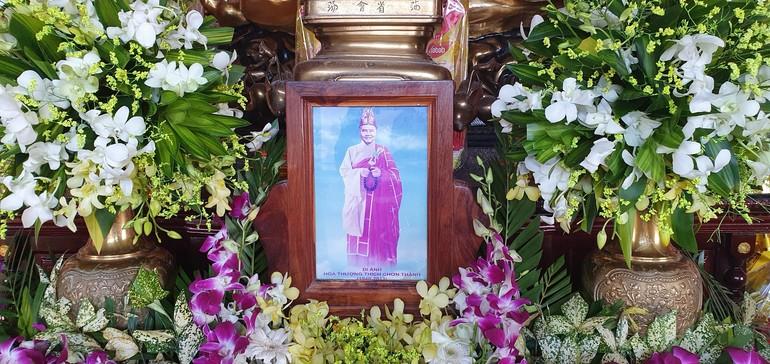 Di ảnh cố Hòa thượng Thích Chơn Thành (1940 - 2013)