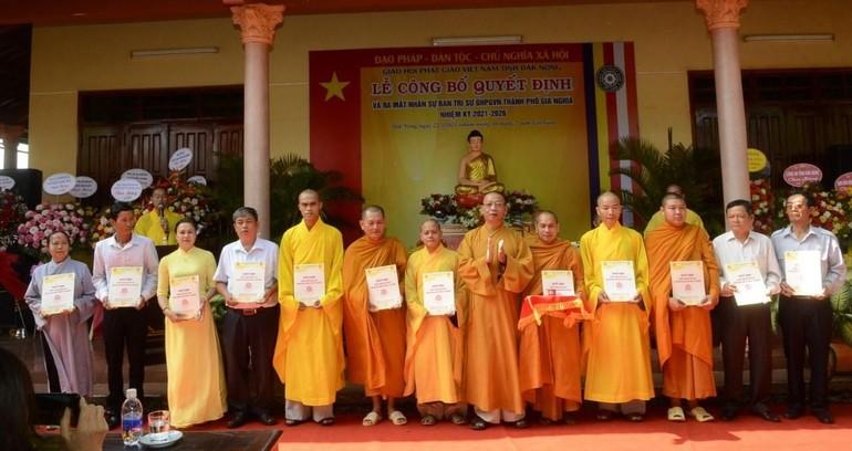 Tân Ban Trị sự Phật giáo TP.Gia Nghĩa ra mắt