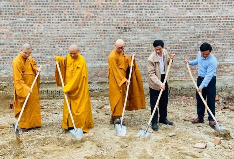Khởi công xây dựng nhà thờ Tổ chùa Chí Linh (đền - chùa Gám)