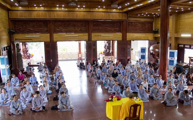 Thời pháp thoại của Đại đức Thích Chúc Trường