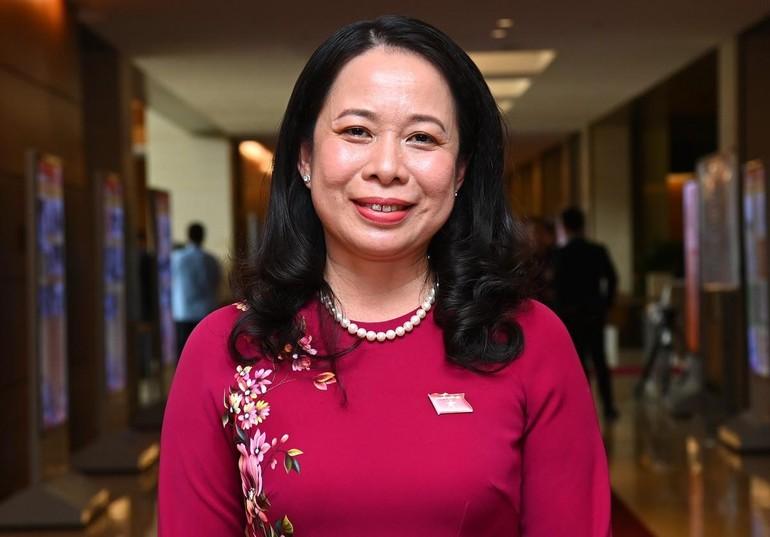 Tân Phó chủ tịch nước Võ Thị Ánh Xuân - Ảnh: Giang Huy